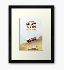 Mount Snowdon, North Wales Framed Print