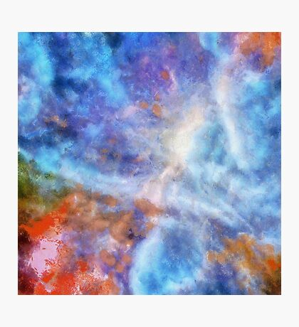 Ascending From A Dive Decorative Abstract  Art Photographic Print