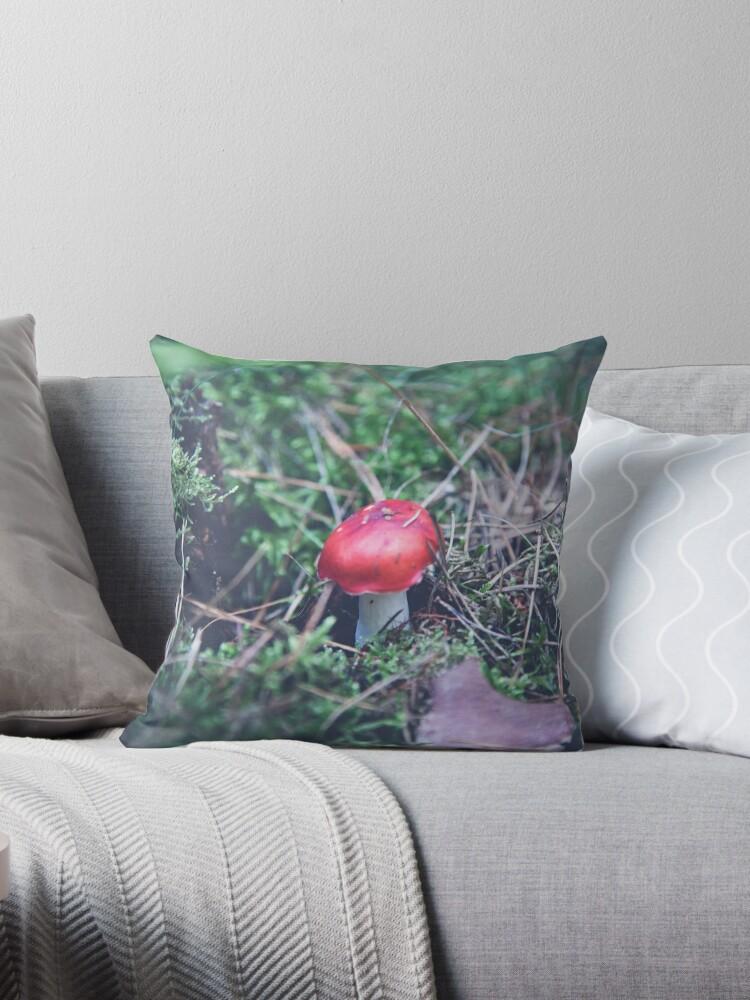 Rote Pilze im Wald von pASob-dESIGN