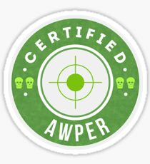 Certifed AWPer - Team Roles Sticker