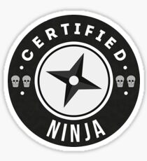Certified Ninja - Team Roles Sticker