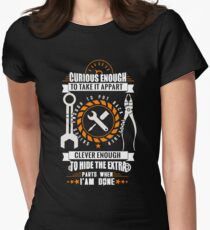 Mechanic Womens Fitted T-Shirt