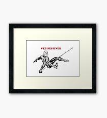 SPIDER MAN  Framed Print
