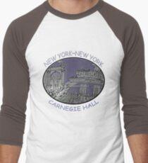 NYC-Carnegie Hall Men's Baseball ¾ T-Shirt