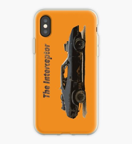 El interceptor Vinilo o funda para iPhone