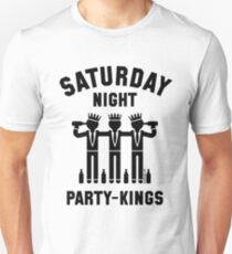 Saturday Night Party-Kings (Black) Unisex T-Shirt
