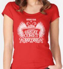 Natasha, Pierre und der Große Komet von 1812 Tailliertes Rundhals-Shirt