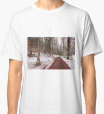 Bavarian Alps Path - 3/4 Classic T-Shirt