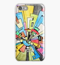 Abstract Tunnel iPhone Case/Skin