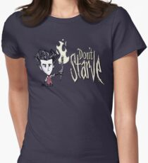 Don't starve! Women's Fitted T-Shirt
