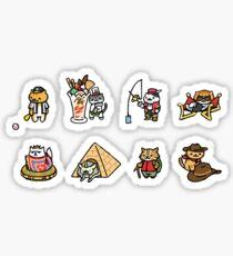 Neko Atsume Sticker