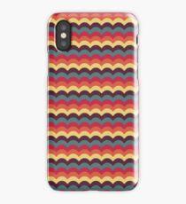 Fallen Leaf Wave Pattern iPhone Case/Skin