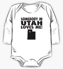 Somebody In Utah Loves Me One Piece - Long Sleeve