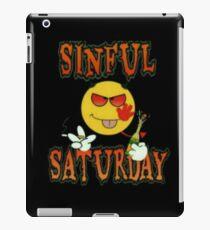 Sinful Saturday  iPad Case/Skin