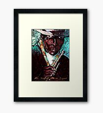 The Man the Horn the Legend Framed Print