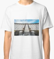 Claerwen Dam Mid Wales Classic T-Shirt