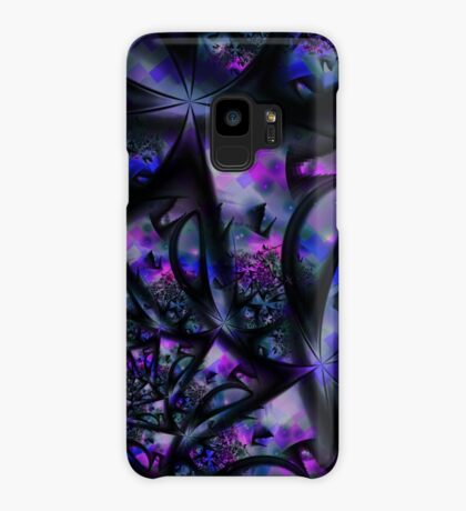 Purple Dreams Abstract Case/Skin for Samsung Galaxy