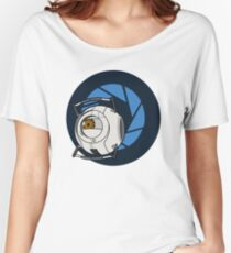 Portal 2 Space Core! Women's Relaxed Fit T-Shirt