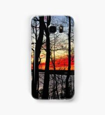 Flaming Samsung Galaxy Case/Skin