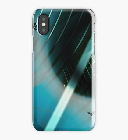 Blue World Art iPhone Case