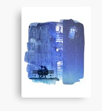 Doctor who - Amy and Rory Metal Print
