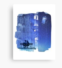 Doctor who - Amy and Rory Canvas Print