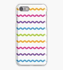 Bright Hue Wavy Line Pattern iPhone Case/Skin