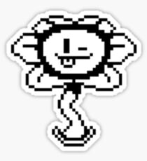 Flowey the Flower - Undertale Sticker