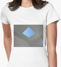 Skyspace Revisited #2 Women's Fitted T-Shirt