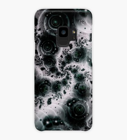 White Spiral Futuristic Art Case/Skin for Samsung Galaxy