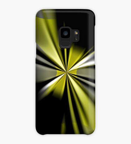 Yellow Flower Abstract Case/Skin for Samsung Galaxy