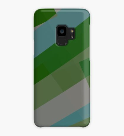 Leopard Zebra Pattern Green Blue Gray Case/Skin for Samsung Galaxy