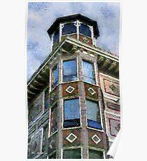 Painted Lady, Russian Hill Poster