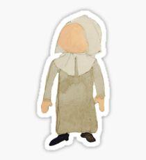 Toddies November Thanksgiving Pilgrim Puritan Baby Girl Toddler Sticker