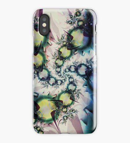 Kids Spiral Art iPhone Case