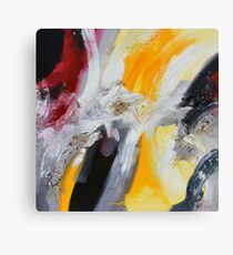 Red Yellow Abstract Giclee Canvas Print
