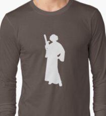 Star Wars Princess Leia White Long Sleeve T-Shirt
