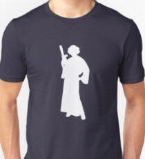 Star Wars Princess Leia White Unisex T-Shirt