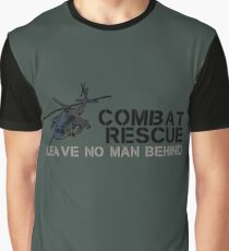 Combat Rescue- Leave no man behind Graphic T-Shirt