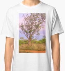 sunset boabab tree gantheaume  Classic T-Shirt