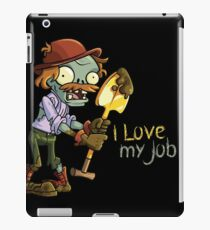Plants vs Zombies - I Love My Job iPad Case/Skin