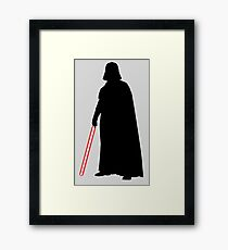 Star Wars Darth Vader Black Framed Print