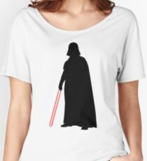 Star Wars Darth Vader Black Women's Relaxed Fit T-Shirt
