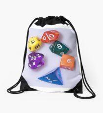 D&D dice Drawstring Bag