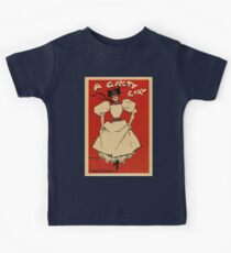 A gaiety girl, vintage British musical advert  Kids Tee