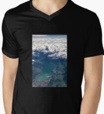 The North Face and Lake Thun Men's V-Neck T-Shirt