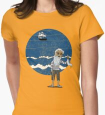 The Ancient Mariner Womens Fitted T-Shirt