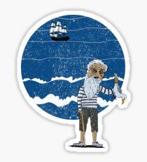The Ancient Mariner Sticker