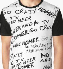 No tv and no beer Graphic T-Shirt