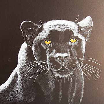 Night panther by artbylorraine